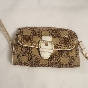 Kathy Van Zeeland Clutch Bag Purse
